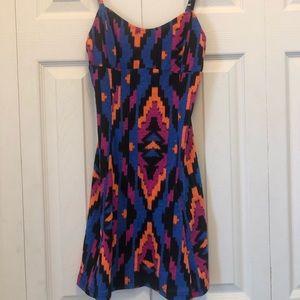Volcom geometric neon dress